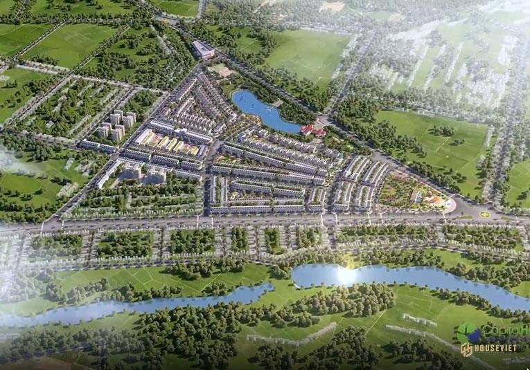 Mặt bằng dự án Eco City Premia