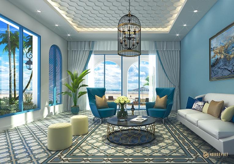 Thiết kế biệt thự Golden City Resort Cửa Lò