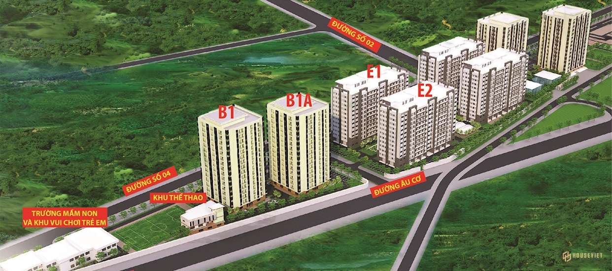 Khu chung cư Nhà ở xã hội KCN Hoà Khánh