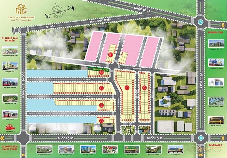 Mặt bằng dự án Sài Gòn Centre Gate