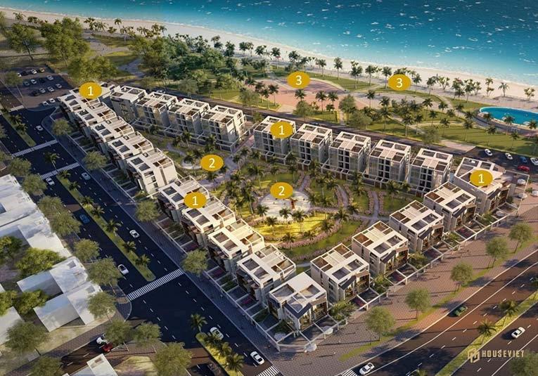 Mặt bằng dự án The Seahara Phu Yen