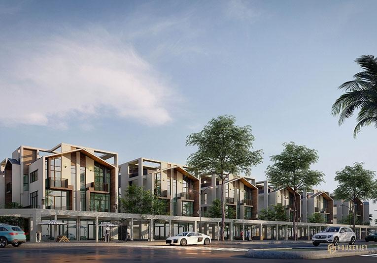 Thiết kế shop villas dự án The Seahara Phú Yên