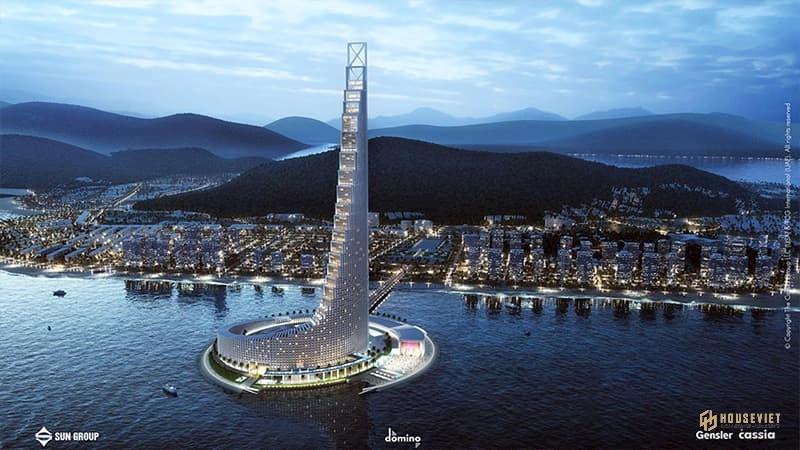 Tháp Domino Hạ Long - Sun Hạ Long Ocean Park