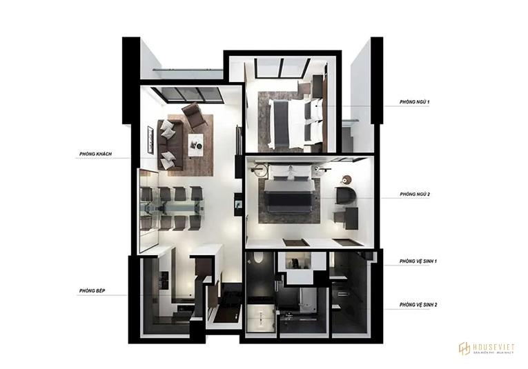 Thiết kế căn hộ The Royal Đà Nẵng