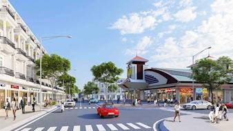 Lễ khởi công dự án chợ và Nhà phố thương mại Bình Minh