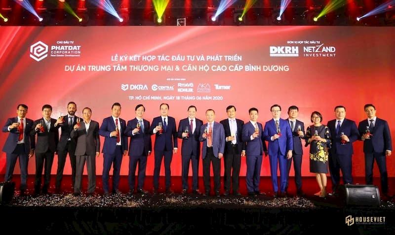 VTV đưa tin về lễ ký kết hợp tác giữa Phát Đạt và Danh Khôi Holdings